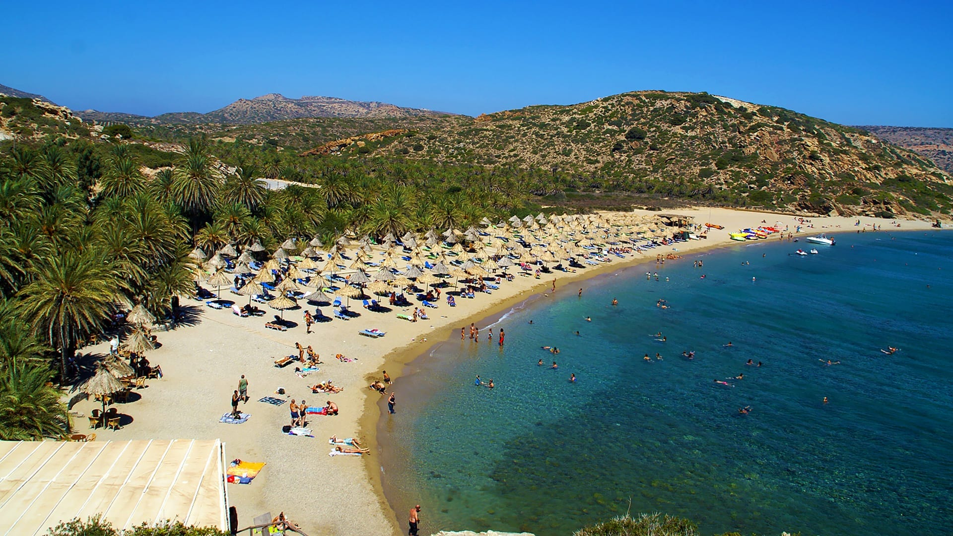 Vai Beach and Palm Forest, Crete