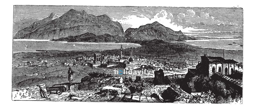 Acrocorinth, Korint, Yunanistan