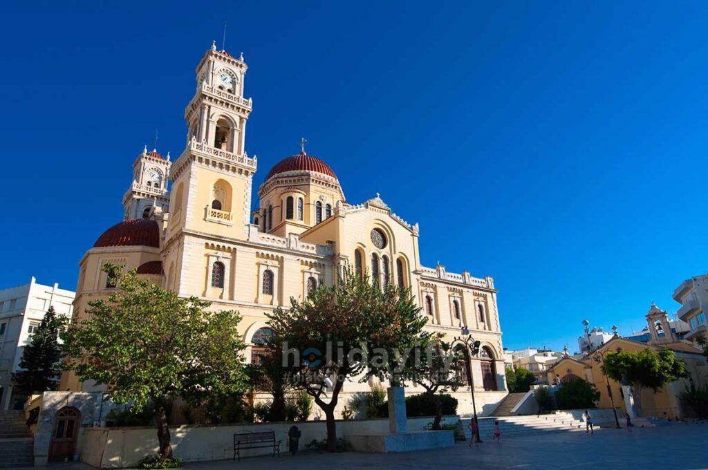 Aziz Minas Katedrali, Girit Adası