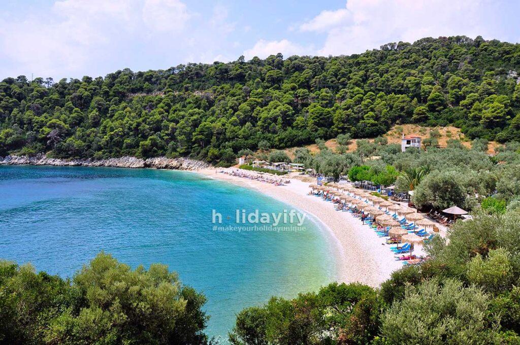 Alonissos Leftis Gialos Plajı