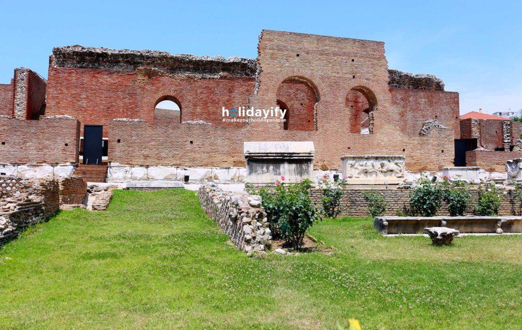Antik Roma Kalıntıları, Patras, Yunanistan