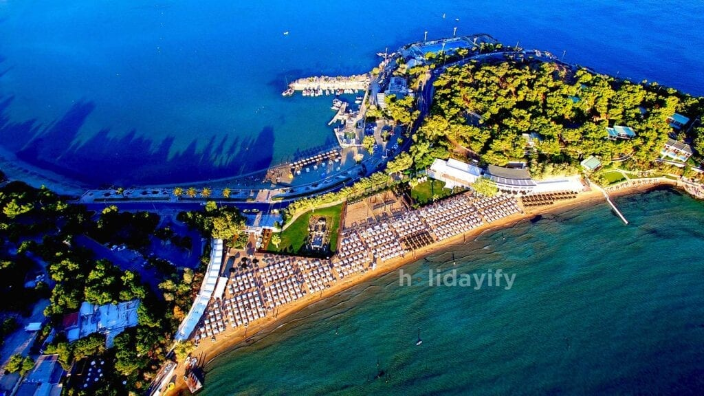 Atina Vouliagmeni Plajı, Atina Plajları, Yunanistan