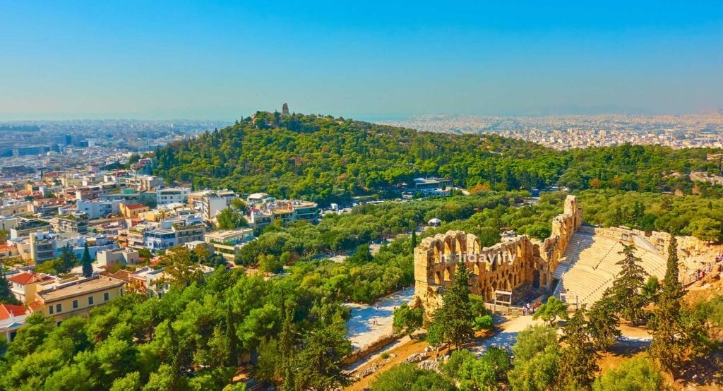 Herodes Atticus Tiyatrosu, Atina, Yunanistan