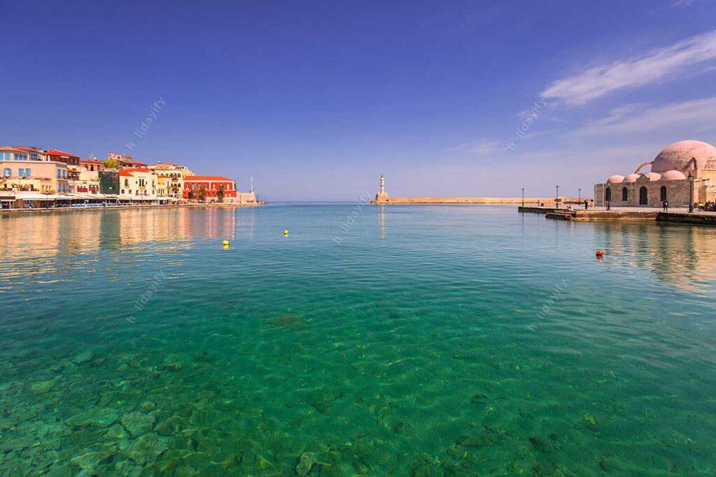 Hanya Eski Limanı, Girit, Yunanistan