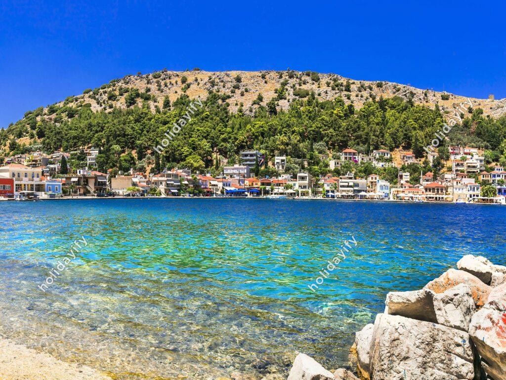 Lagkada köyü, Sakız adası, Yunanistan