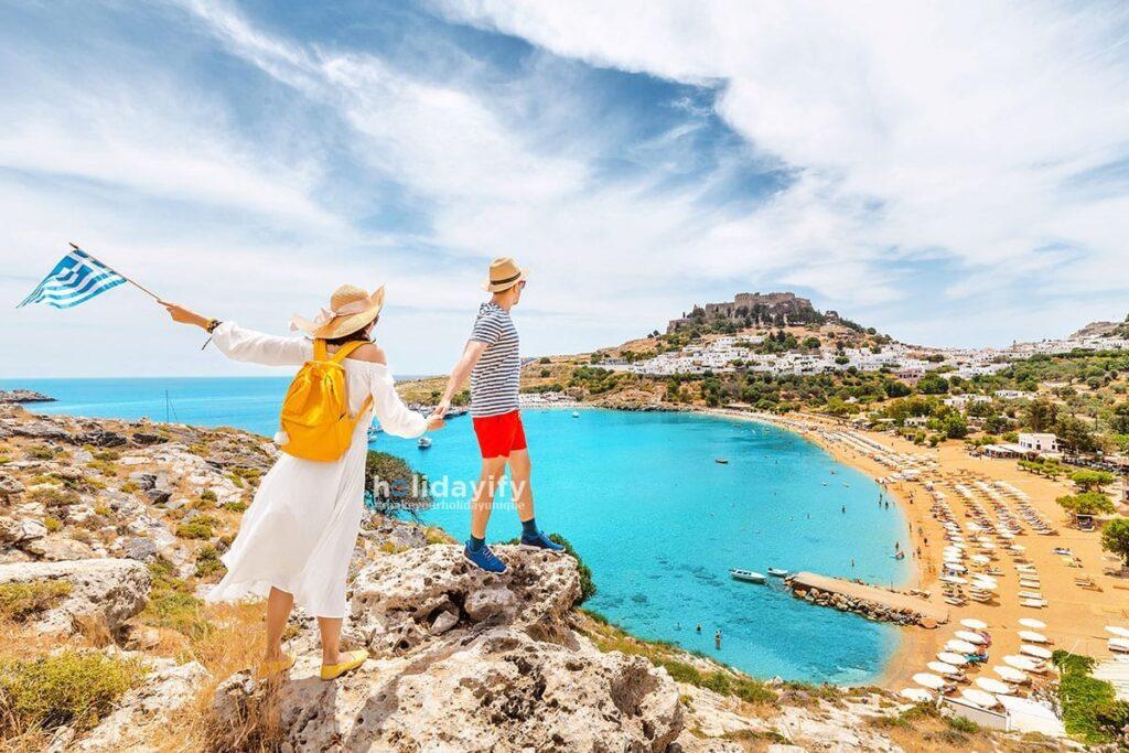 Rodos Adasında İki Kişilik Tatil