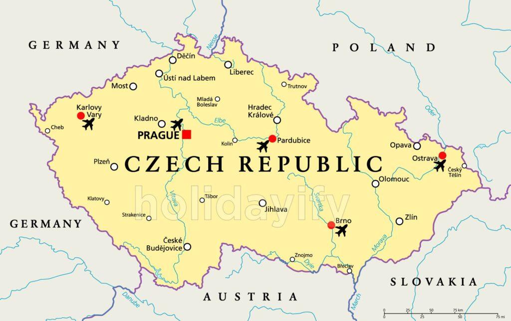 Çek Cumhuriyeti Havaalanları