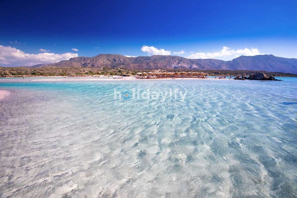 Elafonissi Plajı, Girit, Yunanistan