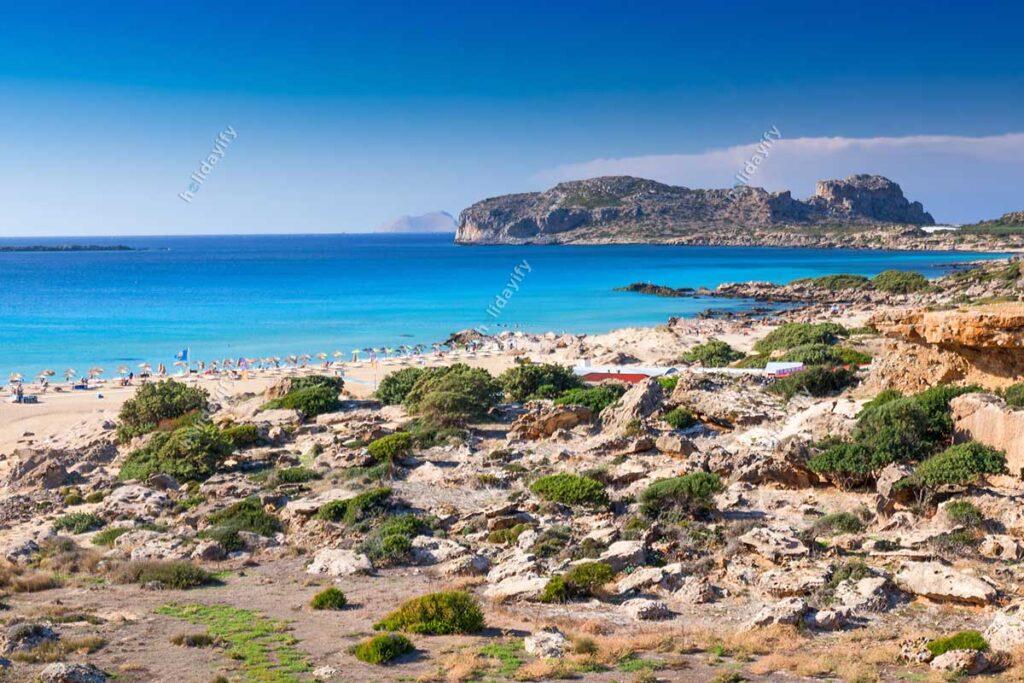 Falassarna Plajı, Girit, Yunanistan