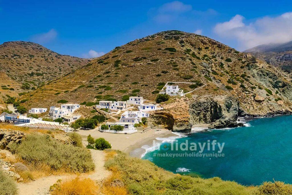 Agali Plajı, Folegandros Plajları