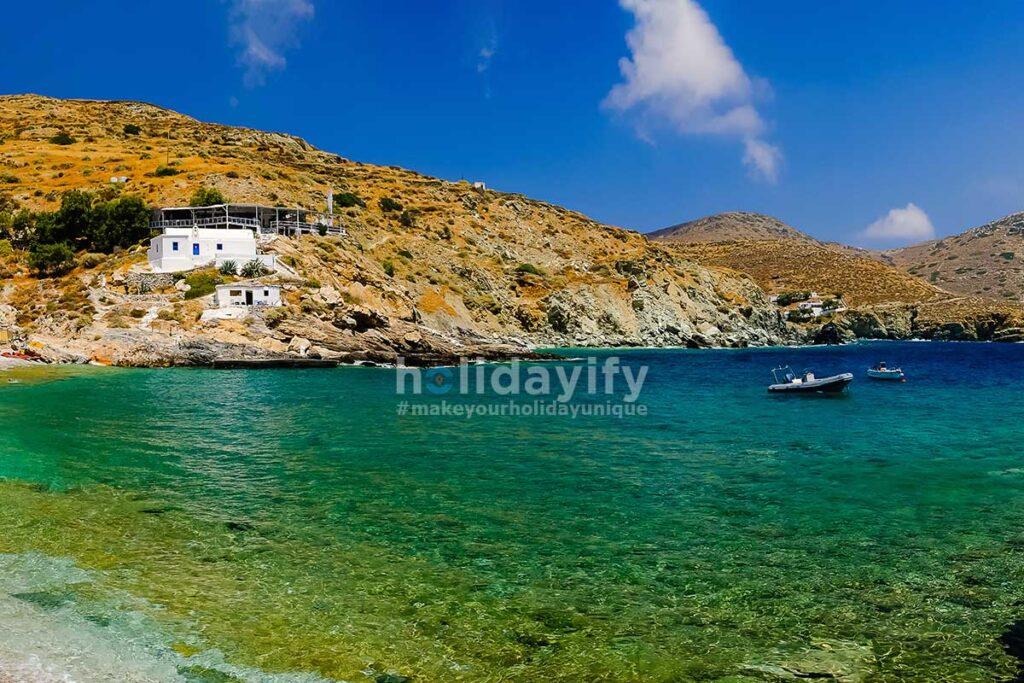 Agios Nicholaos, Folegandros Plajları