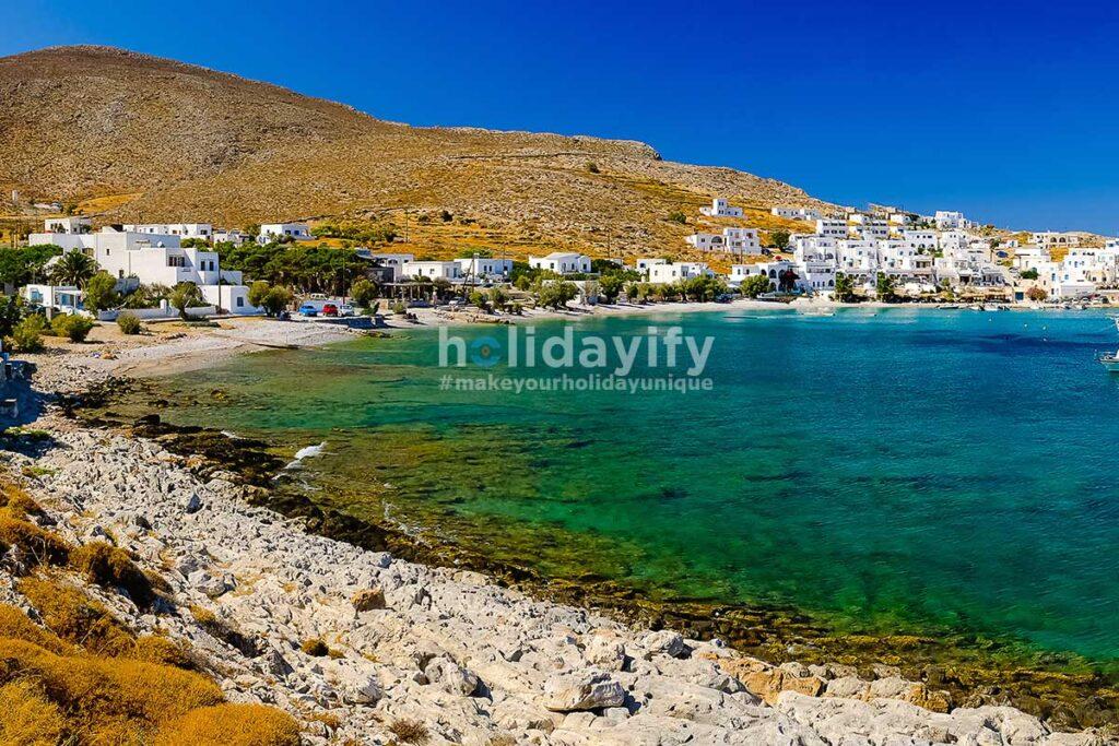 Chochlidia, Folegandros Plajları