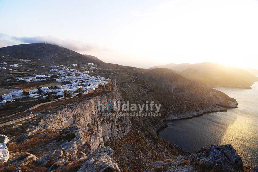 Folegandros (Bolukendire) Adası, Yunanistan