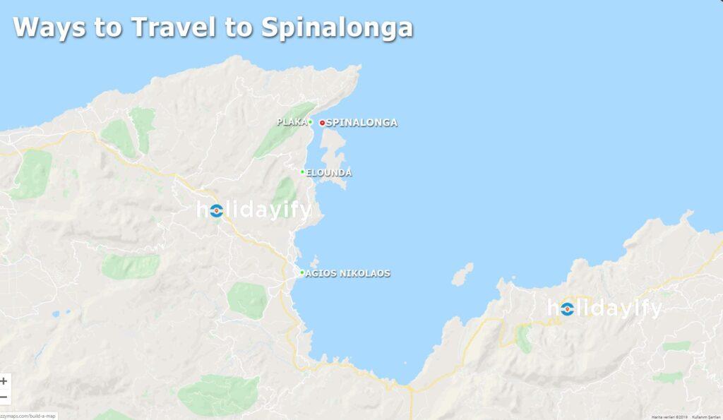 Spinalonga adasına nasıl gidilir