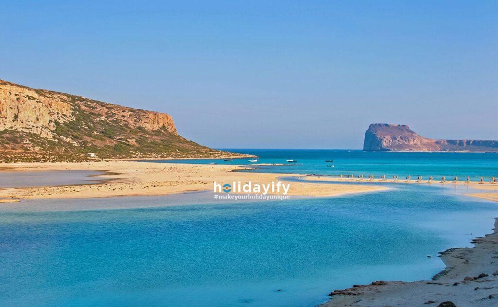 Gramvousa Adası ve Balos Plajı, Girit