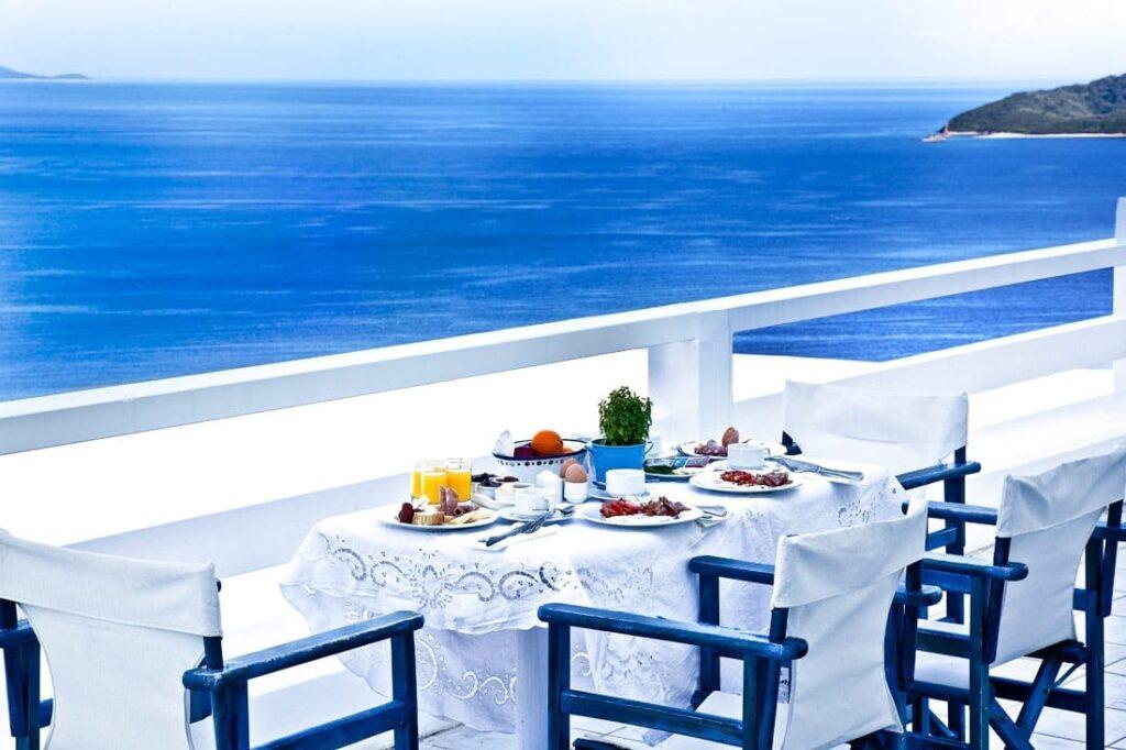 Yunanistan'da Kahvaltı