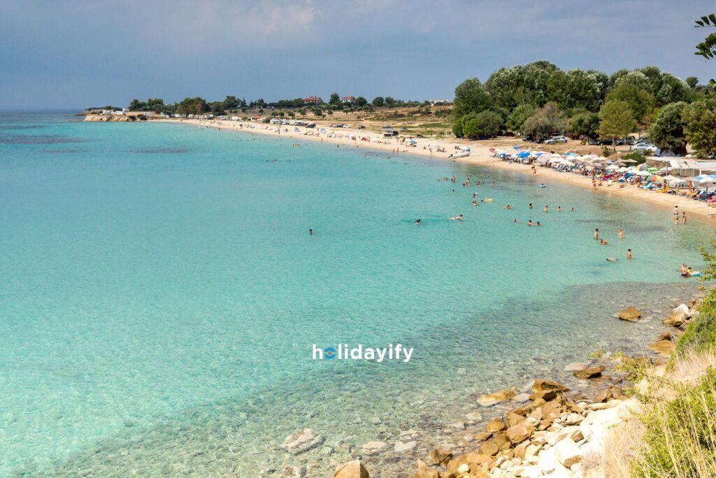 Halkidiki Agios Ioannis Plajı