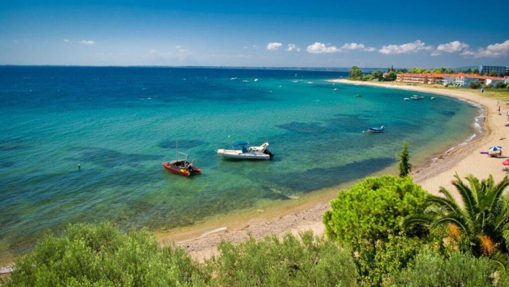 Gerakini plajı, Halkidiki Plajları