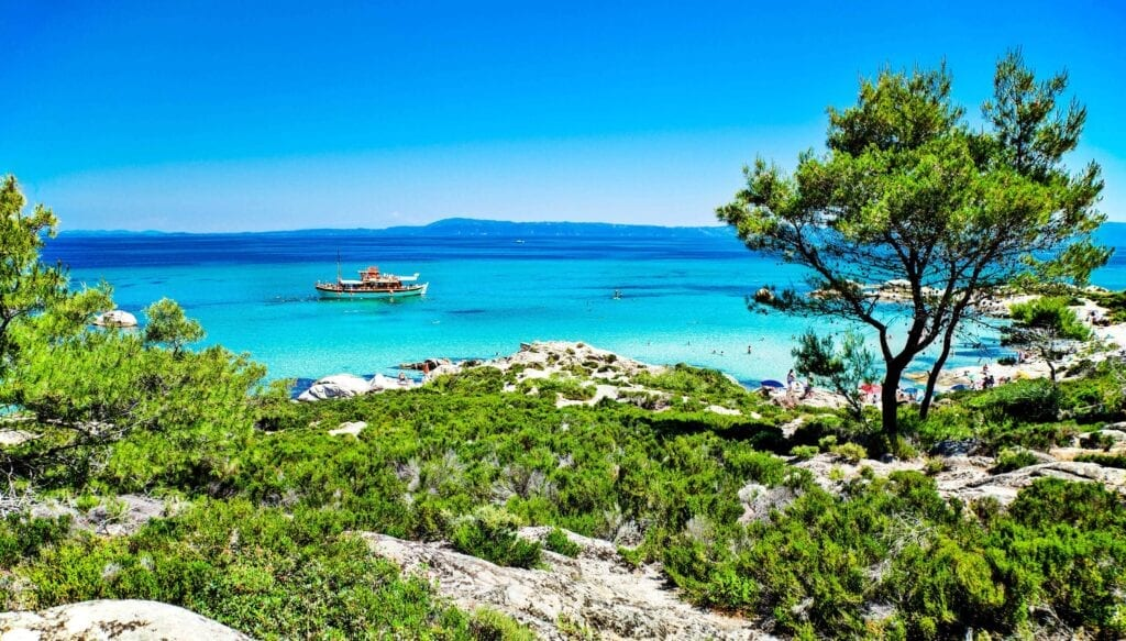 Halkidiki Portokali Orange Plajı