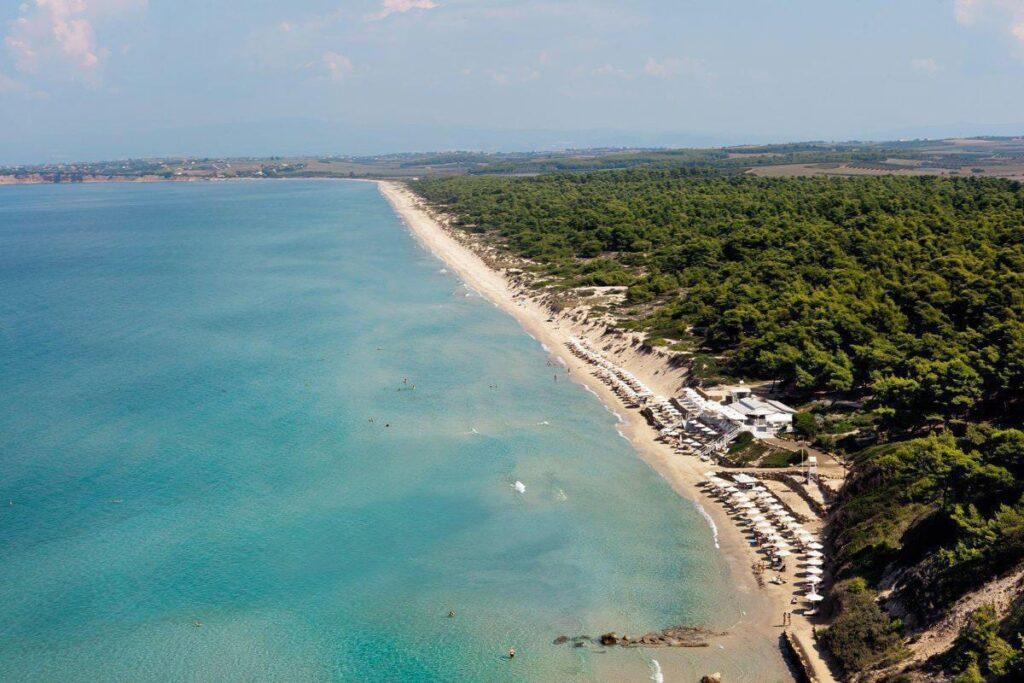 Sani Plajı, Halkidiki Plajları