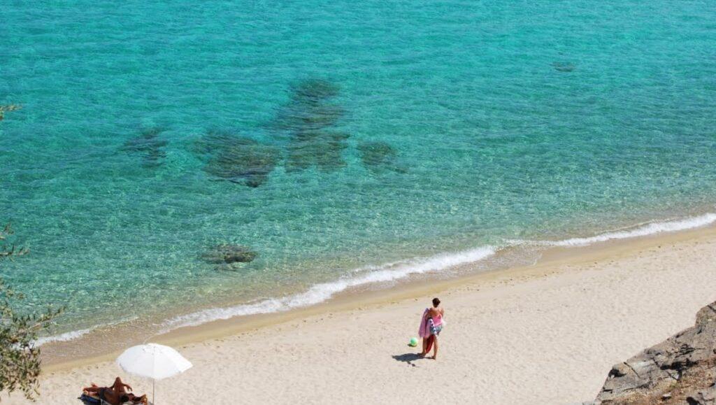 Trani Ammouda Plajı, Halkidiki