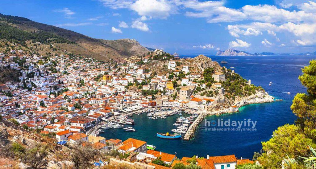 Hydra adası (İdra), Yunanistan