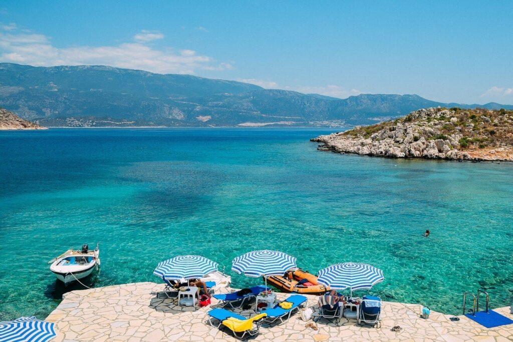 Saint George Plajı, Meis Adası, Yunanistan