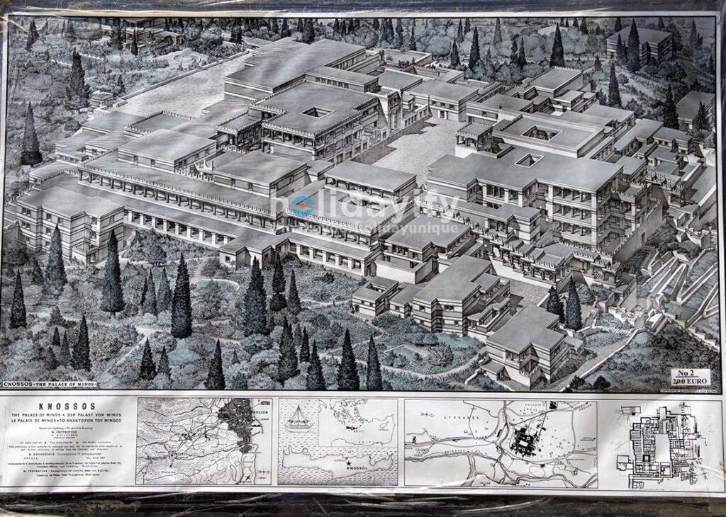 Knossos Haritası, Girit Adası