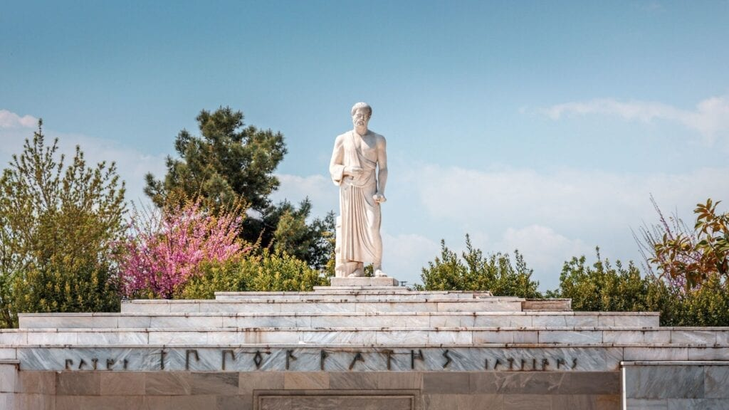 Hipokrat Mezarı, Larissa, Yunanistan