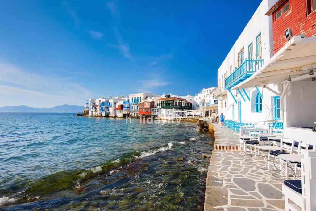 Küçük Venedik / Little Venice, Mykonos