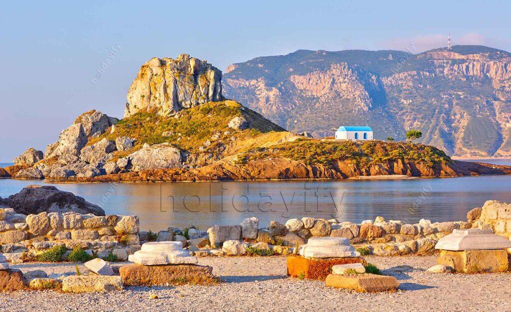 Kastri Adacığı, Kos, Yunanistan