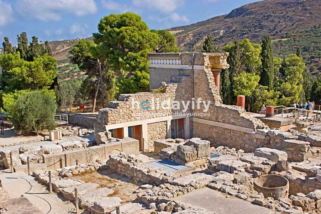 Knossos, Girit Adası