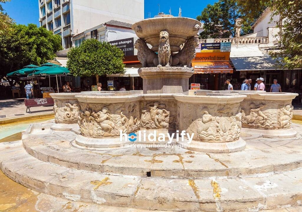 Aslanlı Meydan (Çeşme Meydanı), Kandiye, Girit