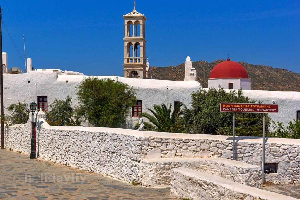 Mykonos Panagia Tourliani Manastırı