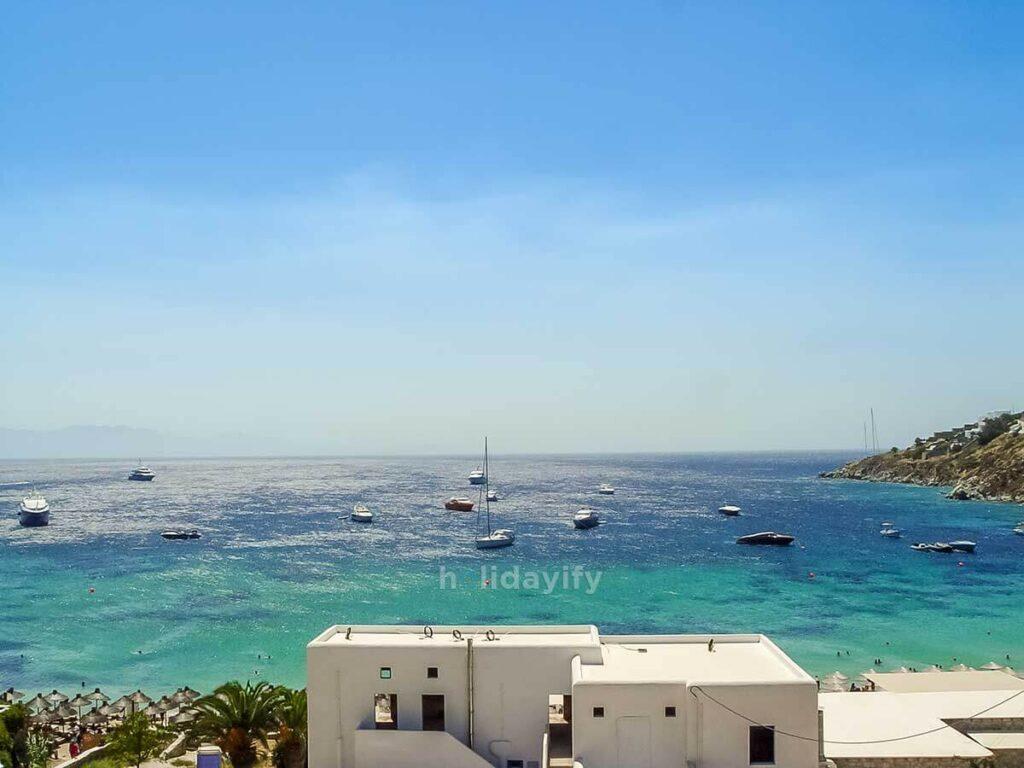Paradise Plajı, Mykonos Adası