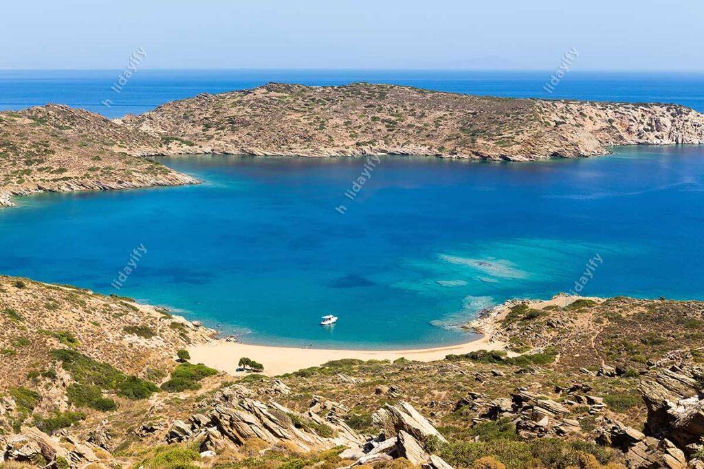Mylopotas Plajı, Ios Adası