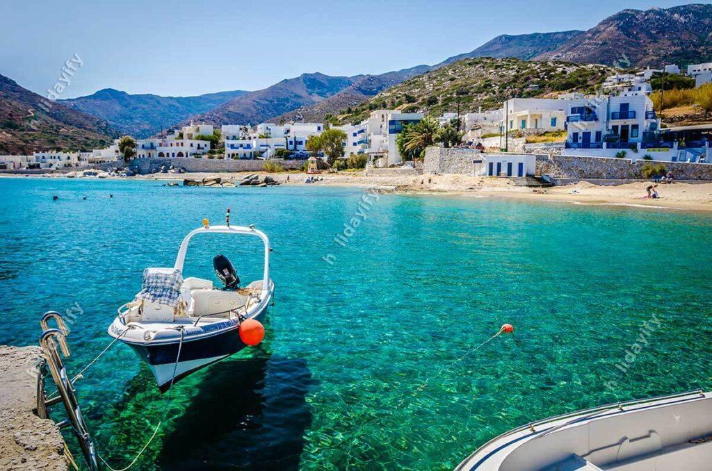 Naxos Apollonas Beldesi