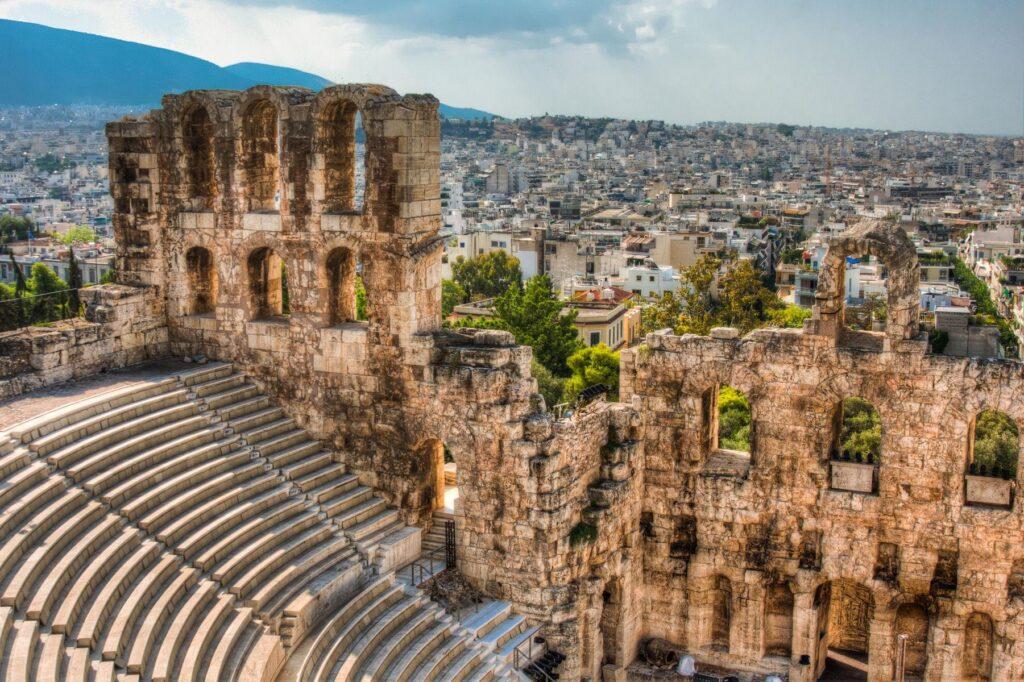 Herodes Atticus Tiyatrosu, Atina