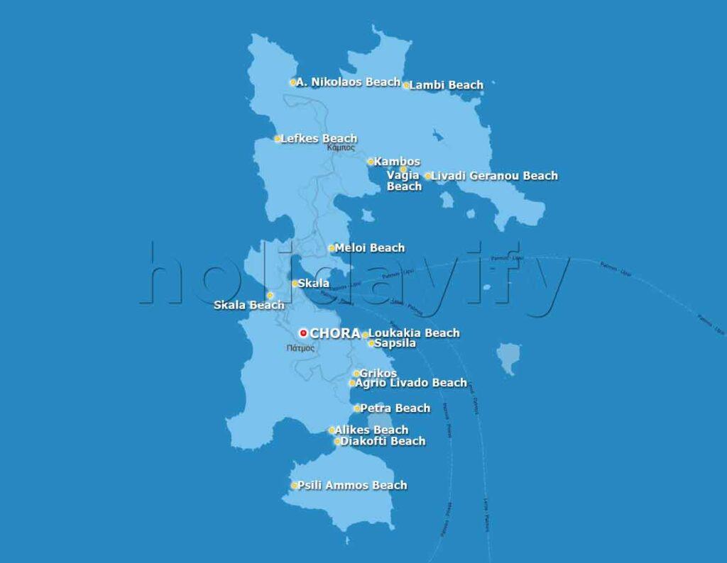 Patmos Haritası