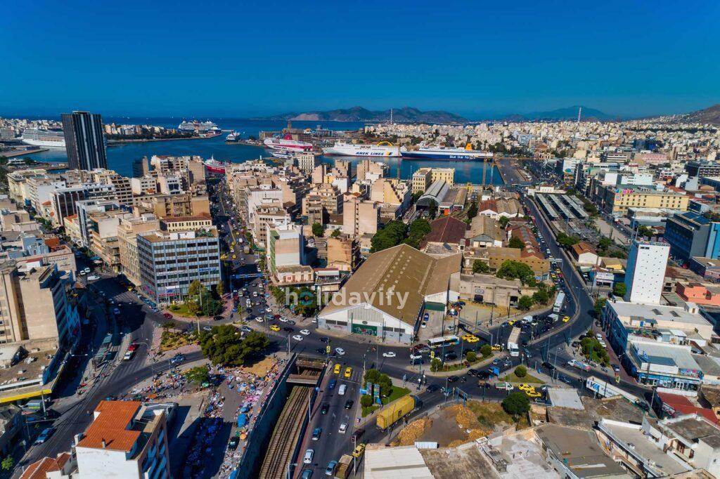 Atina ve Pire Limanı, Yunanistan