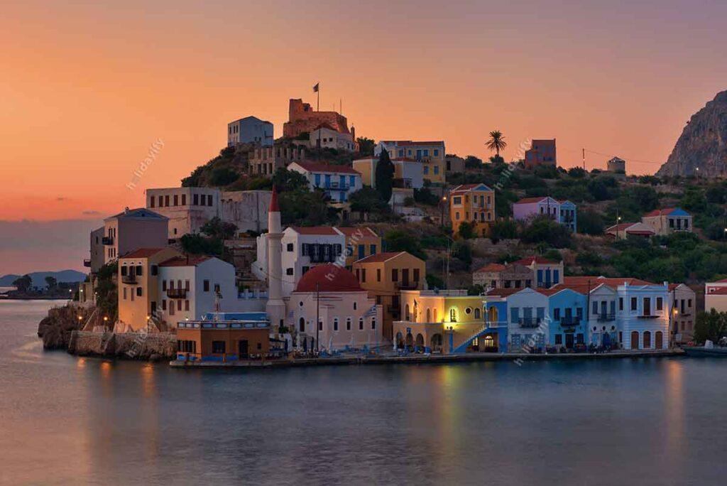 Meis adası, Yunanistan