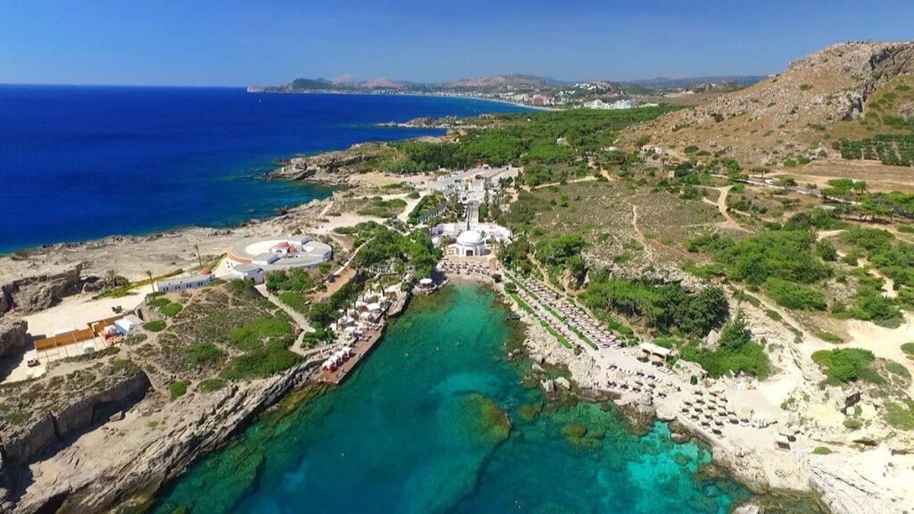 Kallithea Plajı, Rodos Adası, Yunanistan