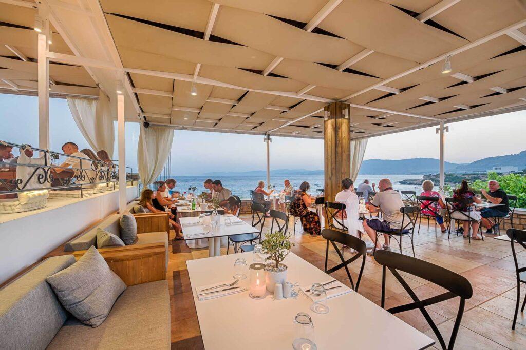 Kyma Restaurant, Rodos'un en hızlı yükselen restoranlarından biridir.