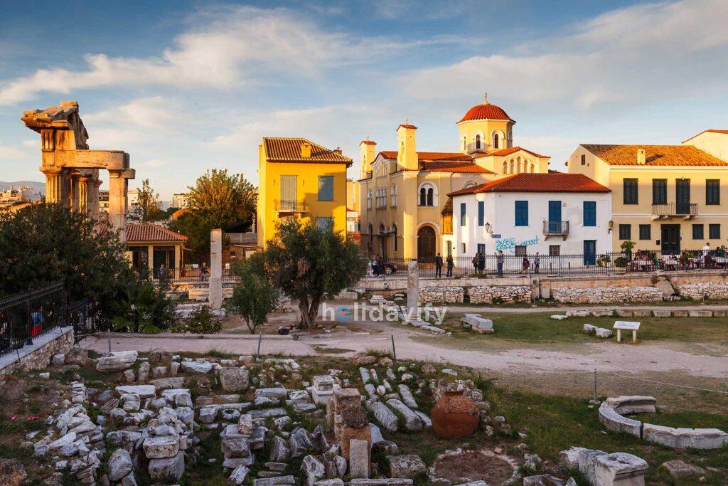 Roma Agorası, Atina