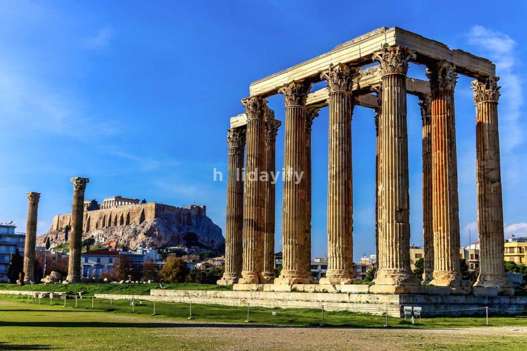 Olimpos Zeus Tapınağı, Atina, Yunanistan