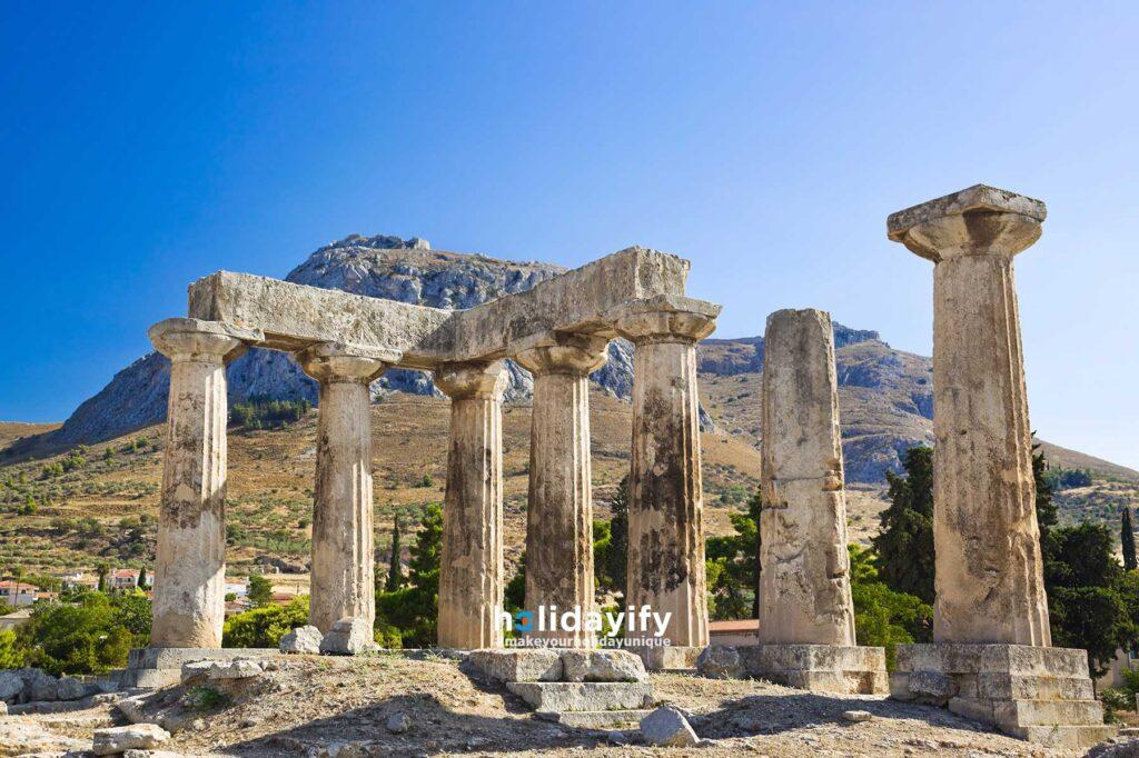 Korinth Tapınağı, Mora Yarımadası