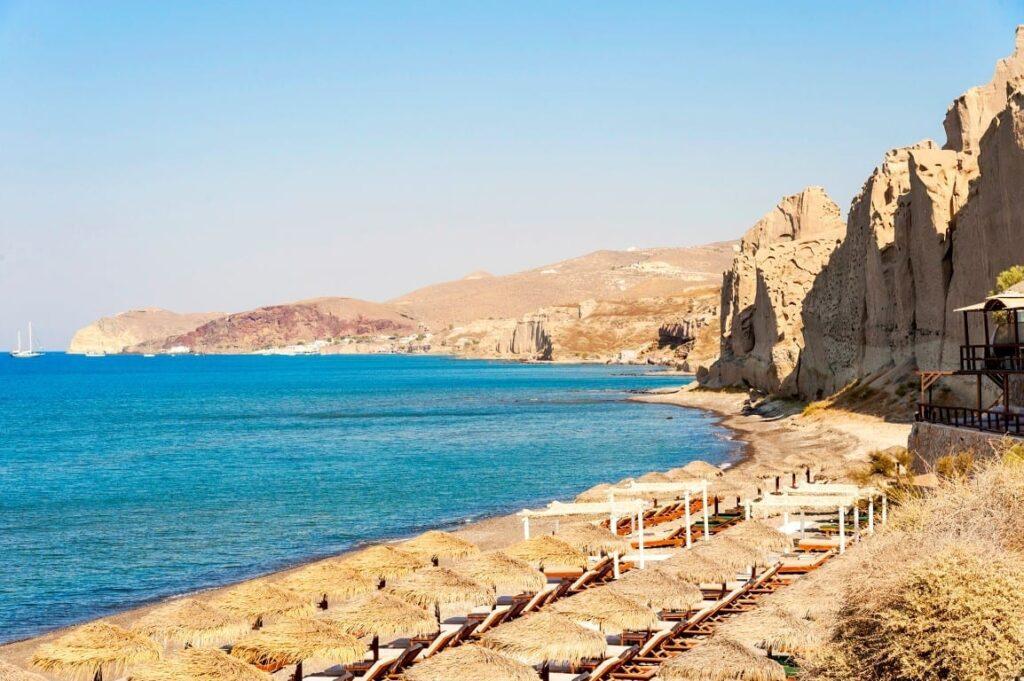 Eros Plajı, Santorini
