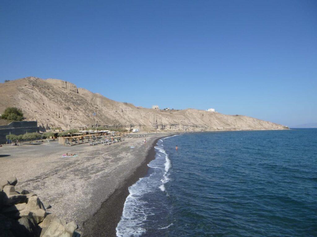 Exo Gialos Plajı, Santorini