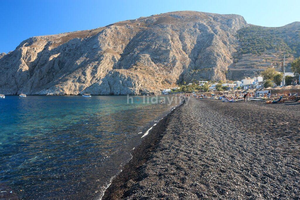 Kamari Plajı, Santorini