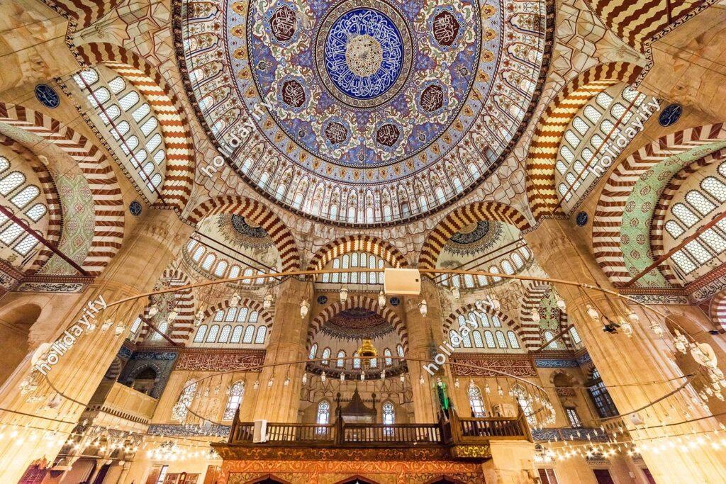 Selimiye Cami Kubbesi